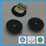 potentiomètre simple de molette de roue codeuse de troupe de l'ohm 10k de 10mm pour la radio