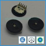 potentiomètre simple de molette de roue codeuse de troupe de l'ohm 10k de 10mm pour la radio