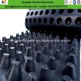 Conseil de drainage de cavité de PE/feuille géomembrane imperméable Ligne d'Extrusion