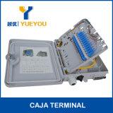 FTTH 12 Kern-Kabel-Kasten 1*12 optischer Verteilerkasten des PLC-Teiler-Sc/APC Aadaptor