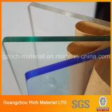 반투명 색깔 플라스틱 아크릴 장 던지기 PMMA 방풍 유리 장