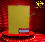 Het gele Blad van het pvc- Schuim voor Raad 15mm van de plaatsen-Besnoeiing