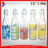 De in het groot Goedkope Duidelijke Fles 1000ml van de Opslag van de Frisdrank van het Glas voor Melk