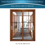 Vidro corrediço de porta pendurada de alumínio para varanda e Pátio