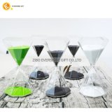 Temporizador da areia do Hourglass do polígono para o minuto 10 15 25 30 45 60