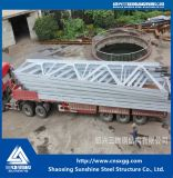 処理のための産業鉄骨構造の角度の鋼鉄