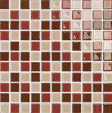Mosaico delle mattonelle, singolo vetro di colore, decorazione della parete (G423005)