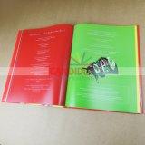 Impressão fotográfica do livro de Hardcover da impressão do livro