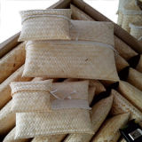 Konkurrierender Handwoven Bambusstreuung-Beutel