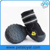 Fabricante de acessórios Pet resistente à água antiderrapagem sapatos de cães