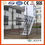 Escadas de andaimes de alumínio com a Plataforma