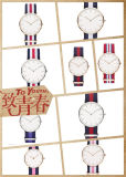Vigilanza astuta del quarzo della manopola di marchio su ordinazione con il Giappone Movt (DC-833)