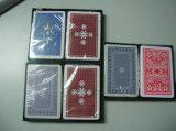 Cartão 100%, cartões de jogo plástico do PVC da alta qualidade de jogo 100% plásticos Washable do póquer