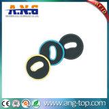 Modifica rotonda della lavanderia di HF RFID del materiale di PPS per la gestione dei vestiti