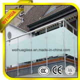 Verre faible de bâtiment de mur d'E/Laminated/Insulated/Tempered/Curtain