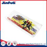 Cas PVC PVC étanche crayon sac pour les fournitures scolaires