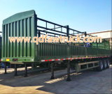 Nu het neigen! 50-70 de ton Hoge Aanhangwagen van de Lading van de Zijwand