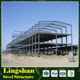 Estructura de acero del precio bajo para la fábrica