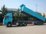 Tre assi 30 tonnellate di rimorchio posteriore del deposito
