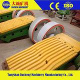 Qualitäts-Mangan-Stahlbacke-Zerkleinerungsmaschine zerteilt Kiefer-Platte