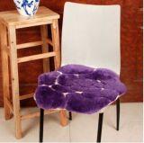 Современный Цветочный дизайн высокого качества Sheepskin табурет подушки сиденья