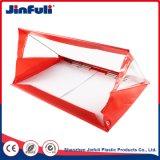 Kundenspezifische rote Geschenk-Briefpapier-Beutel-Büro-Schreibwarenhandlung