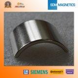 Изготовление подгоняло аттестованный ISO/Ts16949 магнит дуги нео