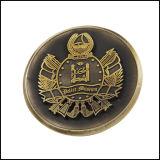 Moneta antica del metallo del rame placcato dell'oro (GZHY-JZ-013)