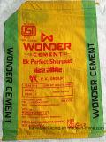 De Geweven Zak van het cement pp met het Stikken van Bodem