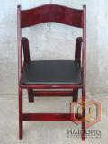 ماهوغانيّ لون طي خشبيّ كرسي تثبيت زفافيّ