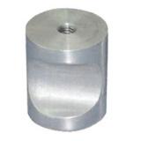 Pièces de usinage de rechange en métal de nickelage de précision automatique blanche de commande numérique par ordinateur