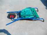 Chariot à plateau en tissu pliable