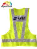Personalizar a segurança reflexivo de malha túnica de várias cores e dimensões, logotipos e modelos