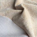 Un seul tissu floqué 100%canapé tissu en nylon (YS1701)