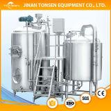 Het bier brouwt de Boiler van de Ketel/van het Wort/de Tank van de Draaikolk voor Bierbrouwen
