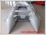 アルミニウム床(FWS-D320)が付いている膨脹可能な漕艇