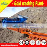 沖積金の砂鉱の金または川の砂の金のための選鉱の完全な金の処理機械