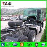 반 Sinotruk 6X4 트레일러 트랙터 트럭 371HP HOWO 무거운 트랙터 트럭