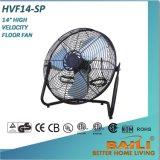 """14 de Ventilator van de Vloer van de """" Hoge Snelheid, Industriële Ventilator met het Traliewerk van het Metaal"""