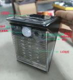 À prova de IP65 alimentada a energia solar com luz de LED do sensor de movimentos PIR de câmera de segurança