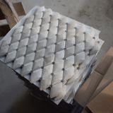 Плитка мозаики мрамора 3D хорошей конструкции белая ромбоподобная мраморный каменная