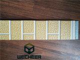 Жара панели украшения металла изолировала панель стены конструкции кирпича