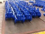 LÄRM duktiler Eisen-nicht steigender Stamm-elastischer SitzStandardabsperrschieber (DN40 zu DN1200)