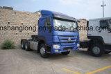 Sinotruk HOWO 6X4のトラクターのトラックの牽引のトラクター40ton (ZZ4257N3241W)