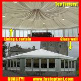 De witte Tent van de Markttent van de Zijwand Multi Zij voor Diameter 6m van de Partij de Gast van Seater van 30 Mensen