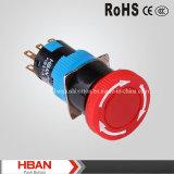Hban (16mm) Waterproof Emergency Stop Pushbutton Switch
