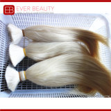 Venda por grosso de cabelo humano natural bruto / 100% virgem Cabelo Brasileiro
