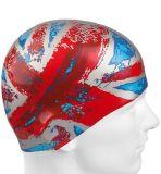 古い栄光のフラグの水泳帽のよい印刷の水泳帽