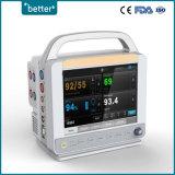 Модульный портативный нескольких параметров монитора пациента E8