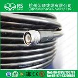 50 ohms de haute qualité LMR400 Câble coaxial avec connecteur N, TNC
